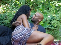 Nyomi Banxxx ebony hard sex video