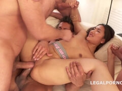 May Thai 5on1 Balls Deep Double Anal