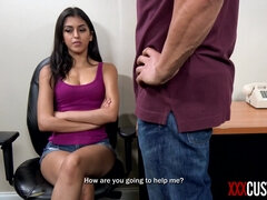 Sophia Leone Humiliated by Horny Officer