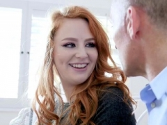 GingerPatch - Freckled Redhead Teenage Fucked By Stepdad