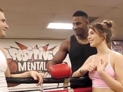 Joseline Kelly Bangs Trainer's BBC Next To Her Husband