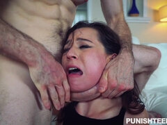 You Must To See A Very Rought Punish Sex With Vicous Young Harlot