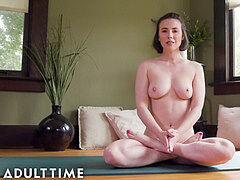 Naked yoga, big ass, yoga