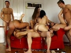 Spectacular group intercourse