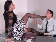 Feet To Suck - Foot Fetish Threesome With Stunning Serbian Babe
