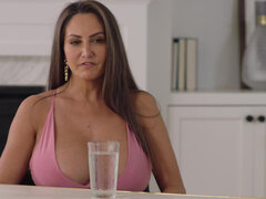 Escort lady Ava Addams dominated by black stud