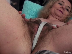 Isabella Diana masturbates to orgasm in bed