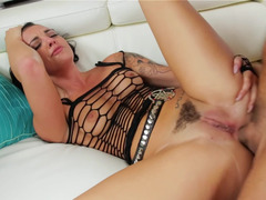 Rachael Madori takes his big fuck pole up her lustful asshole