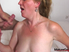 Youthful Boy Gapes Slit and Rectally Plumbs a Raw Super-Naughty Grandma