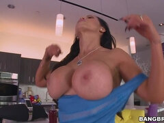 Welcome back Nikki Benz - brunette anal