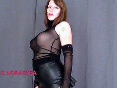 Miss Adrastea Black Nylon and besides Red Nails
