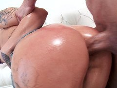 Alby Rydes bum fucked by the sizeable dick she just sucked