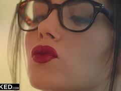 BLACKED Valentina Nappi takes the biggest bbc in the world