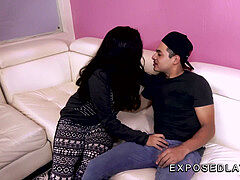 unveiled Latinas Erica Avalos hot latina teen gets nails by her nephew
