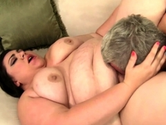 Big beautiful women Bella Bendz Gets Her Fat Tush Plowed