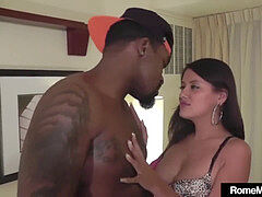 Hot Selma Sins Talks muddy In Spanish banging big black cock Rome Major