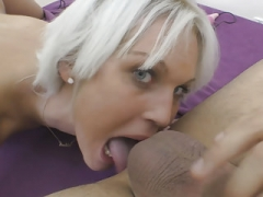 European Soccer mom Cecilia Scott does rimjob and besides has large orgasms