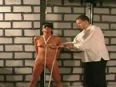 heavy titty torture for amateur woman video feature 1