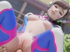 Sexy overwatch heroes get honey pot fucked