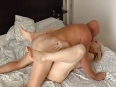 Old female knows how to have an intercourse her man.