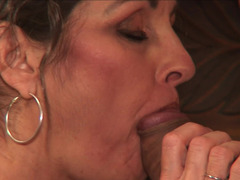 Cougar will never let such amazing fella go away before orgasm