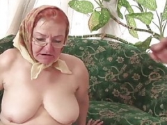 Granny Loves it When I Spit in Her Mouth!
