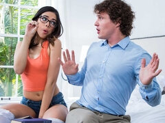 Student Harmony Wonder Takes a Tutors Educated Creampie