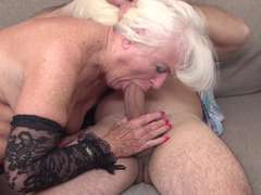 Mom and plus granny get fucked in their mature holes
