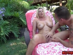 Hot MILF Hardcore Sex In Exotic Garden