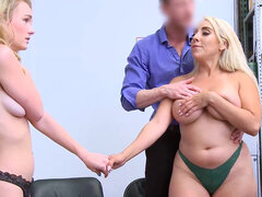 Kylie Kingston and Natalie Knight reach a satisfying compromise with the officer