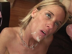 Arousing mother i´d like to fuck's chubbies twat licked out and deeply shagged from behind