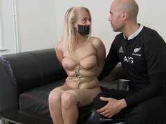Rope And Tape - Bondage MILF Video