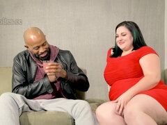 I Luv Big Butts, & Mazzaratie Monica Has Got A Big Ole Butt - interracial with BBW PAWG