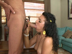 Amateur Scarlett Gold getting pounded by the monster