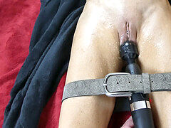 bound multi squirt orgasm control torture for raw cock-squeezing mummy