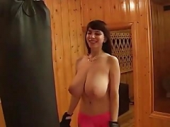yulia nova working out