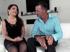 Pretty female gives everything that her gentleman wanted