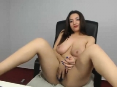 Chubby Bigtitted Teenage Individual Solo play