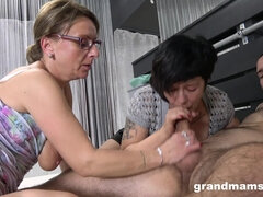 Grandmas 3Some Orgy - hot mature porn