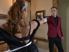 The French Secret Service has sent in their most seasoned spy, Liza Del Sierra, posing as a maid to infiltrate Danny D's mansion