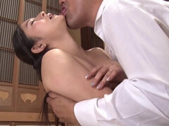 Breasty asian babe amateur filthy sex