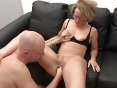 Old German Secretary Fucked & Fisted
