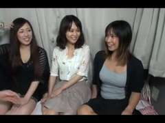 trio Aged Japanese Nymphs Deepthroat Plumb and Creamed (Uncensored)