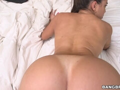 Big tit Latina maid takes dick