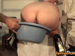 Chubby mommy and kinky gyno doctors