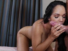 Emily Mena fucks all daddy's employees at the luxury hotel