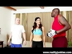 Whore Wife India Summer in Interracial Cuckold
