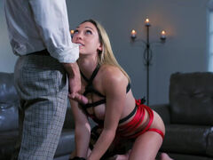 Lily Labeau delicately tied up & intensely fucked by her husband