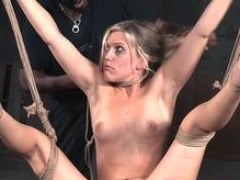 dominated beauty tormented by her master area