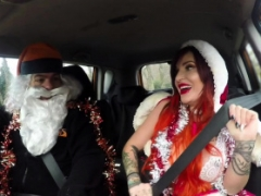 Fake Driving School Sexy aroused squirting festive rectal